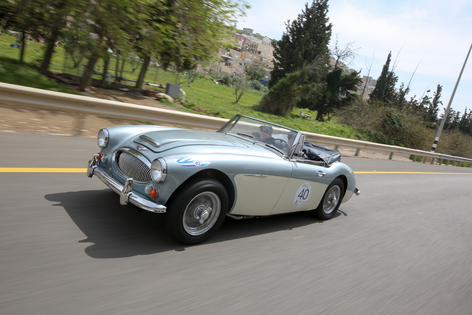 Austin Healey 3000 BJ8 1964, USA