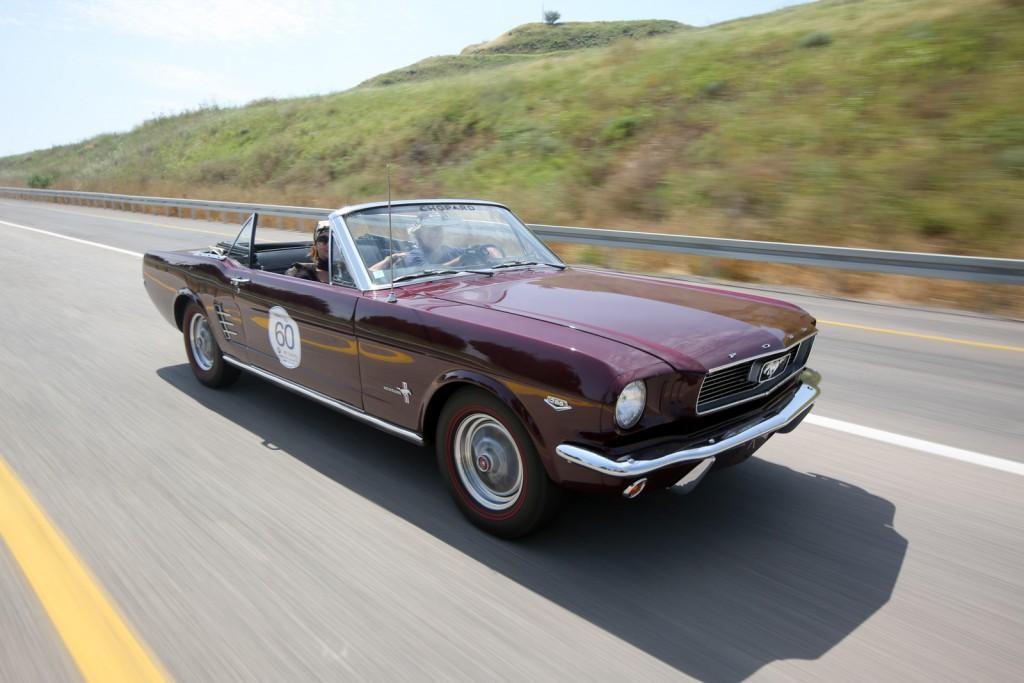 Mustang K-Code HIPO convertible 1966, Argentina