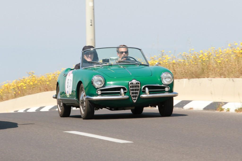 Alfa Romeo Giulietta Spider 1957, USA