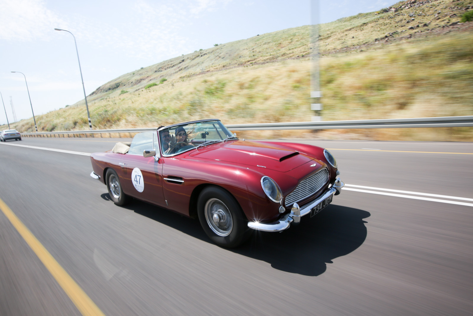 Aston Martin DB5 Convertible 1963, Argentina