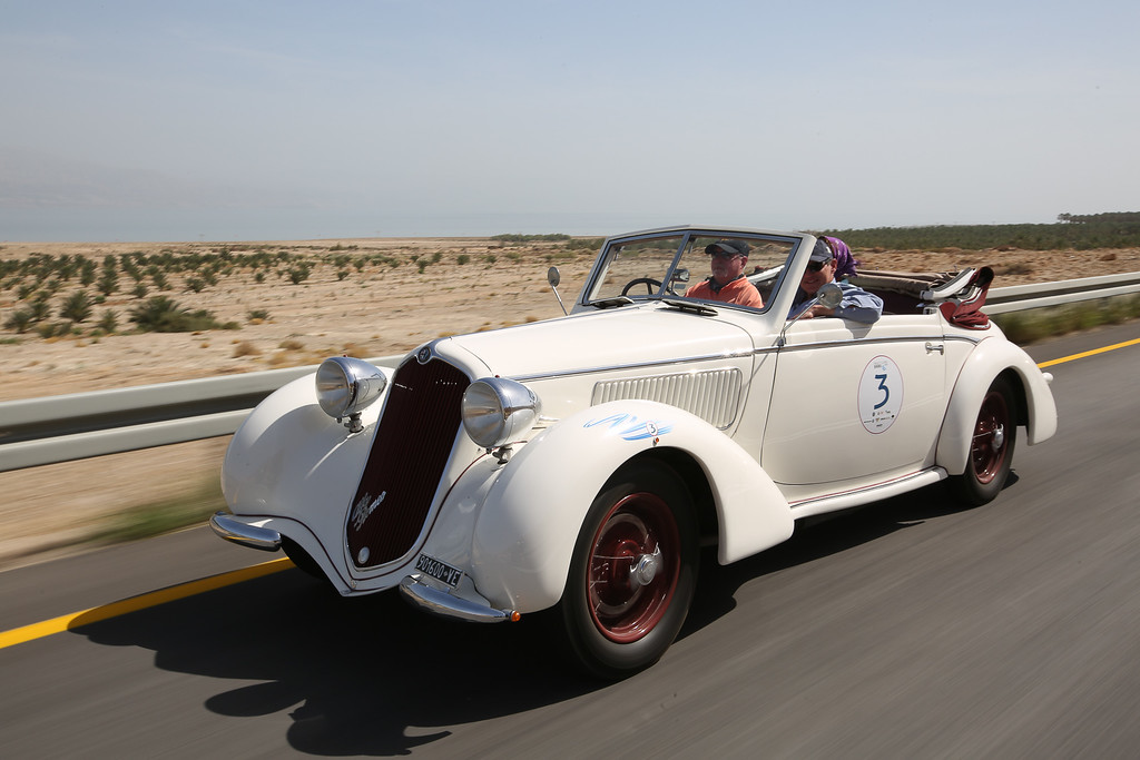 1937, Alfa Romeo 6C 2300 GTC Cabriolet Glaser, USA