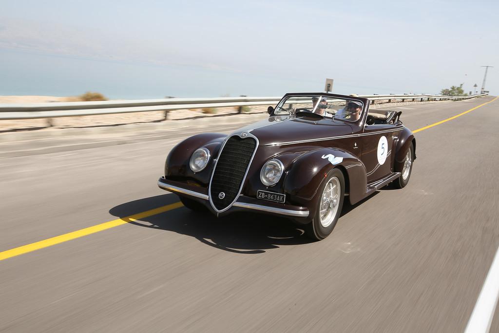 1939, Alfa Romeo 6C 2500 SS Cabriolel Touring, USA