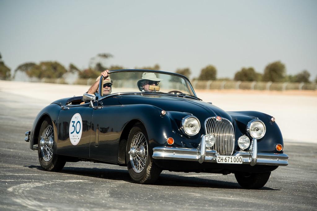 1958, Jaguar XK150 3.4 OTS Switzerland