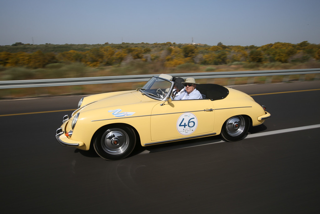 1961, Porsche 356 Super 90 Roadster, USA