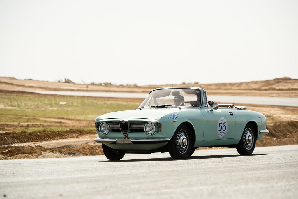 1964, Alfa Romeo Giulietta Giulia GTC, Israel