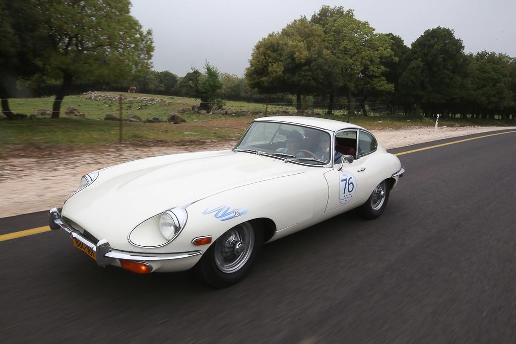1968, Jaguar E-type FHC , Israel